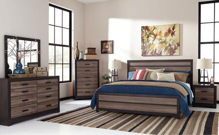 Milo Italia BR478KPBDMN Walter King Bedroom Sets
