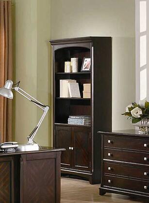 Coaster 801015 Garson Series Wood 2-3 Shelves Bookcase
