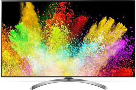 LG xSJ8500 Super UHD 4K HDR Smart LED TV with 4K Ultra HD, TruMotion 240, Active HDR, Nano Cell Display, Wider Color Gamut, Ultra Luminance, in Black