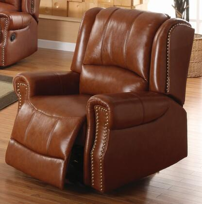 Yuan Tai GM5500CBR Gambell Series Leather Wood Frame  Recliners