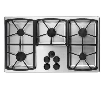 Dacor SGM365SLPH Classic Series Liquid Propane Sealed Burner Style Cooktop with 5 Burners   Appliances Connection