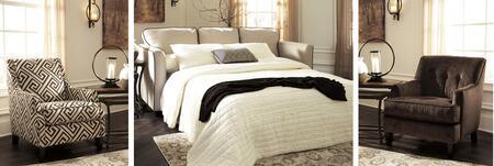 Benchcraft 84401QSSAC12 Carlinworth Living Room Sets