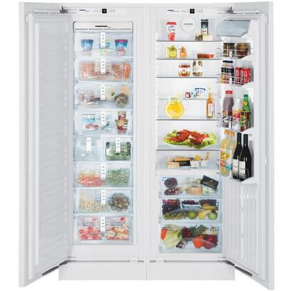 Liebherr SBS19H0 Built In Side by Side Refrigerator |Appliances Connection
