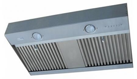 """Trade-Wind DC48X 48"""" Wide Stainless Steel Duct Cover - """" High"""