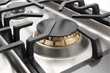 lg studio black stainless steel sealed burner