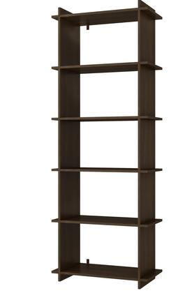 """Accentuations Gisborne 2.0 Collection 13AMCXX 27"""" Open Shelf Bookcase with 5 Shelves and Clean Design in"""