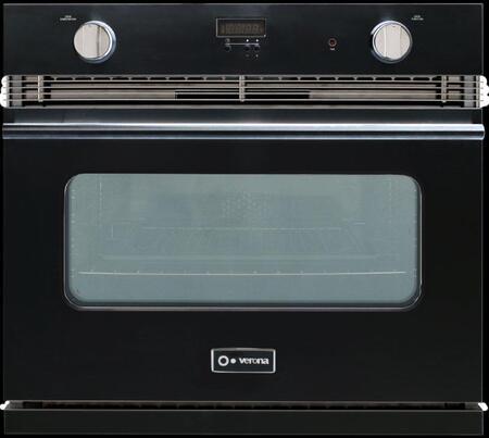Verona VEBIG30E Single Wall Oven, in Black