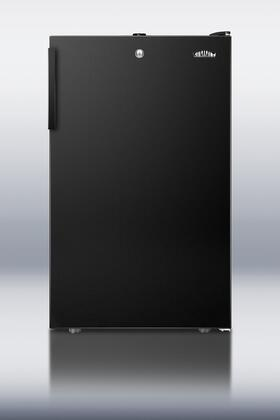 """Summit FS408BL7 20""""  Counter Depth Freezer with 2.8 cu. ft. Capacity in Black"""