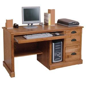 Sunny Designs 2863ROD Sedona Series Computer  Wood Desk