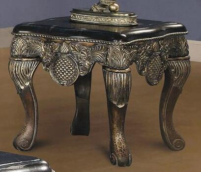 Yuan Tai OD4463E Odette Series Traditional  End Table