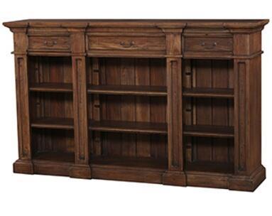 Bramble 25414 Roosevelt Genoa Series Wood 2 Shelves Bookcase
