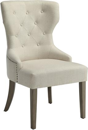 Donny Osmond Home 104507 Florence Series Modern Fabric Wood Frame Dining Room Chair