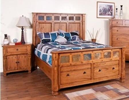 Sunny designs 2322rokbbedroomset sedona king bedroom sets appliances connection for Sunny designs bedroom furniture