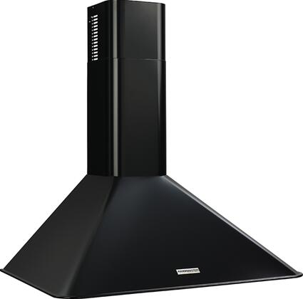 """Broan Elite RM5036 36"""" Wall Mounted Chimney Style Hood with 270 CFM Internal Blower, Multi-Speed Slide Control, Heat Sentry, Dishwasher-Safe Filter and Ductless Option in"""
