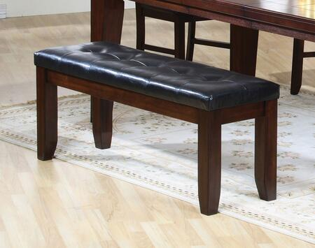 Coaster 101883 Imperial Series Accent Armless Wood Bench