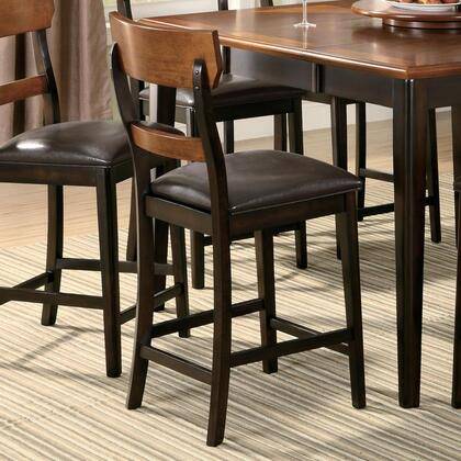 Coaster 102199 Franklin Series Transitional Vinyl Wood Frame Dining Room Chair
