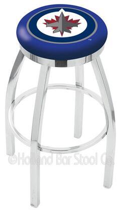 Holland Bar Stool L8C2C25WINJET Residential Vinyl Upholstered Bar Stool