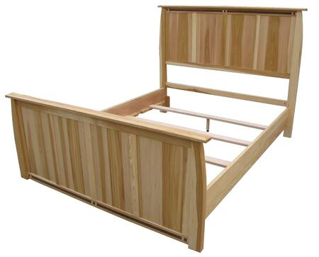 AAmerica ADANT5170 Adamstown Series  King Size Panel Bed