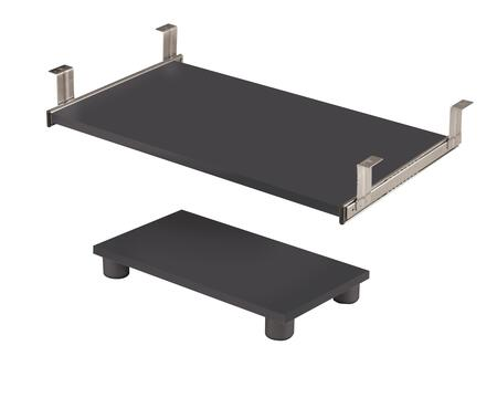 Bestar Furniture 99830 Prestige + keyboard shelf and CPU platform