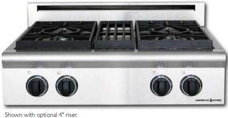 American Range AROBSCT430DONOTUSE  Open Burner Style Cooktop