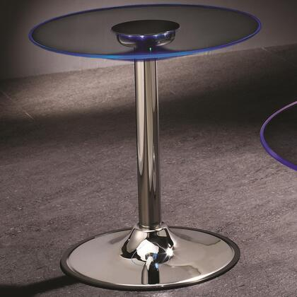 Coaster 701497 LED Series Contemporary Round End Table