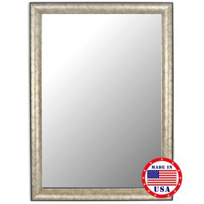 Hitchcock Butterfield 81040X 2nd Look Trellis Pewter Black Trim Framed Wall Mirror