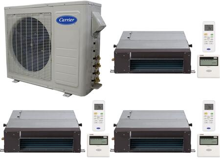 Carrier 701073 Performance Triple-Zone Mini Split Air Condit