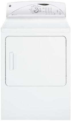 GE GTDX520GDWW  Gas Dryer, in White