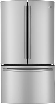 """GE Profile PWE23KSDSS 36""""  Counter Depth French Door Refrigerator with 23.1 cu. ft. Total Capacity 5 Glass Shelves  Appliances Connection"""