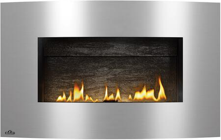 Convex Brushed Stainless Steel Surround