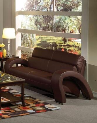Acme Furniture 51735 Irisa Series  Bycast Leather Sofa