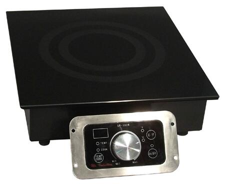 "Sunpentown SR-343 13"" Smoothtop X Commercial Induction Range With 3,400 Watt X, 20 Power Levels, SmartScan Technology, Touch Pad/Knob Controls, LED Display, In"
