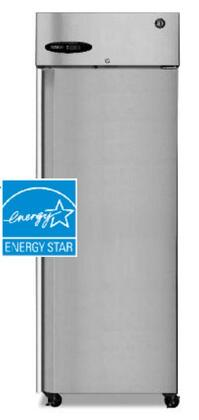 "Hoshizaki CR1BXX 28"" ENERGY STAR Refrigerator with 23.3 cu. ft. Capacity, LED Display, Door Lock, Energy Efficient, Full Stainless Steel Door, in Stainless Steel"