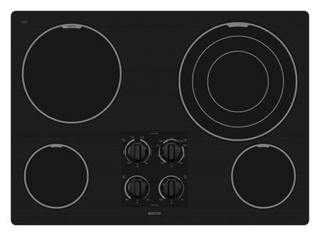 Maytag MEC7630WB  Electric Cooktop |Appliances Connection