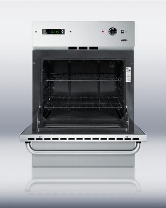 Summit Wtm7212kwss 24 Inch Single Wall Oven In Stainless