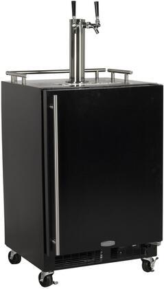 solid black door twin tap right hinge