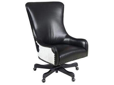 Nouveau Black Executive Swivel Tilt Chair