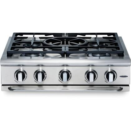 "Capital GRT305L 30"" PRECISION Series Liquid Propane Sealed Burner Style Cooktop"