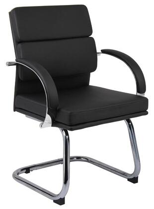 "Boss B9409 37"" Guest Chair with Cantilever Base"