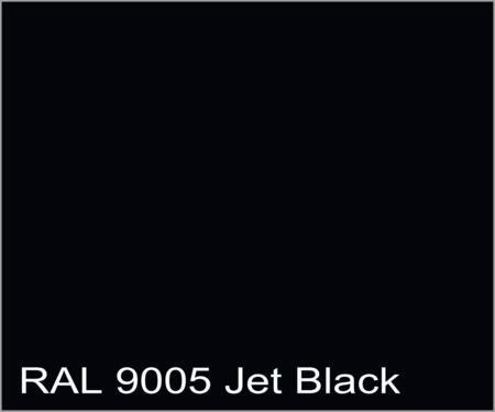 RAL9005   Jet Black