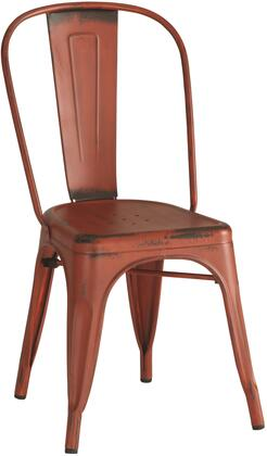 Coaster 105613 Dining Chairs and Bar Stools Series Rustic Metal Frame Dining Room Chair