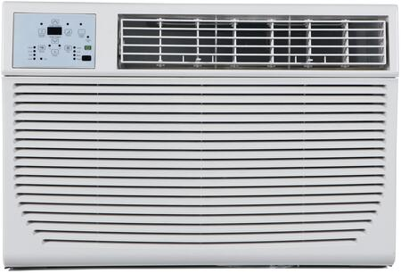 "Impecca ITACxKx 25"" Through the Wall Air Conditioner with x Cooling BTU, x sq. ft. Cooling Area, 24 Hour Timer, Auto Restart, Energy Saver and Remote Control, in White with 6-15P Plug Type"