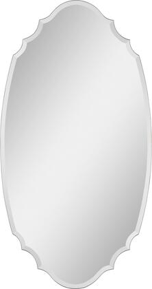 Ren-Wil MT951  Oval Both Wall Mirror
