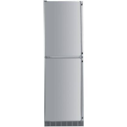 "Liebherr BFI1061 24"" Counter Depth Bottom Freezer Refrigerator with 10 cu.ft. Total Capacity 4.5 cu.ft. Freezer Capacity Glass Shelves   Appliances Connection"