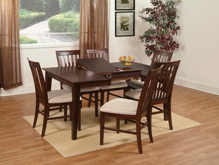 Atlantic Furniture SHAKER4278BTDTCL