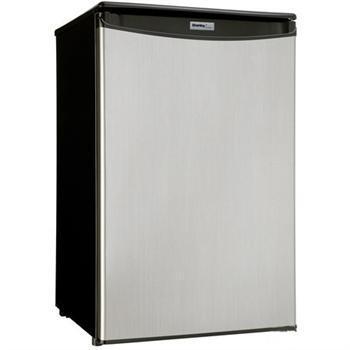 Danby DAR125SLDD  Freestanding Counter Depth Compact Refrigerator with 4.4 cu. ft. Capacity, 3 Glass ShelvesField Reversible Doors