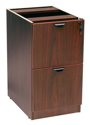 "Boss N176M 26"" Wood Traditional File Cabinet"