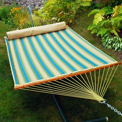 Algoma 289X 13 Foot Quilted Hammock with Matching Pillow