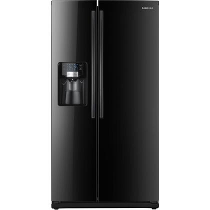 "Samsung Appliance RS263TDBP Freestanding 26 cu. ft. 9.7 cu. ft. No 35.75"" Side by Side Refrigerator 