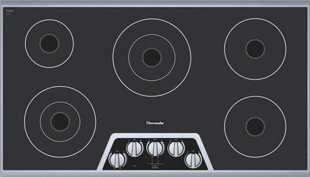 """Thermador CEM365FS 36"""" Masterpiece Series Electric Cooktop"""